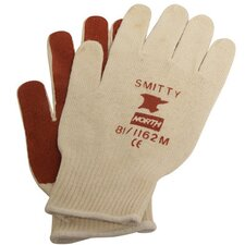 Mens Size Smitty® Cotton/Acrylic Nitrile Palm Coated Work Glove (144 Pair Per Case)