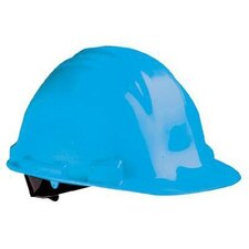 Peak Hard Hats - yellow safety cap poly shell 6 point rat.suspen.