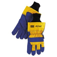 Insulated Leather Palm Gloves