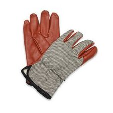 Worknit® HD Glove With Nitrile Coated Palm And Index Finger, Slip-On Cuff & Black Dash Back