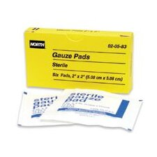 "X 2"" Sterile Gauze Pads (6 Per Box) (Set of 10)"