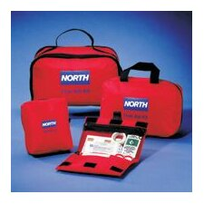 "<strong>North Safety</strong> Redi-Care 8 3/4"" X 6"" X 2 3/4"" First Aid Kit"