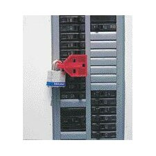 C-Safe® Single Pole Circuit Breaker Lockout, Requires A Switch Breaker With A Recessed Hole