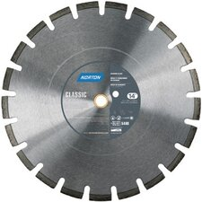 "High Speed Diamond Blade for Abrasive Materials with 0.26"" Segment Height"
