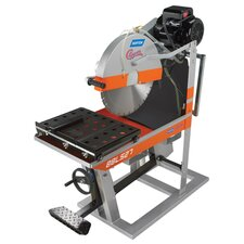 "BBL Large 5 HP Single Phase 14"" Blade Capacity Electric Masonry Saw"