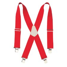 "2"" Wide Red Work Suspenders 110RED"