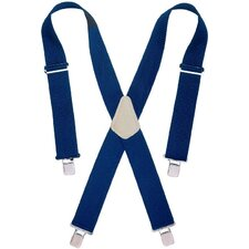 "2"" Wide Blue Work Suspenders 110BLU"