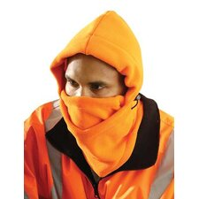 Orange Fleece Full Face Winter Liner