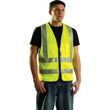 Yellow Class 2 OccuLux® Surveyors Vest With Zipper