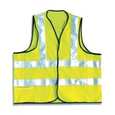 Yellow OccuLux® Flame Retardant Vest With 3M™ Scotchlite™ Reflective Tape (ANSI Class 2)