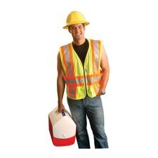 Large/2X OccuLux® High Visibility Expandable Two-Tone Vest