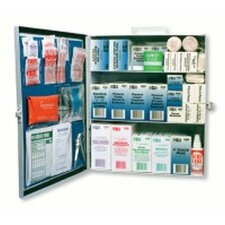 3-Shelf Industrial First Aid Stations - standard industrial 3 shelf first aid station