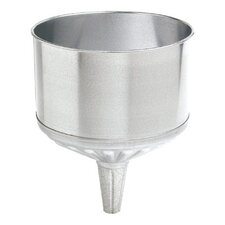 "Funnel Metal W/Screen 8Qt 9-1/2"" Diameter"