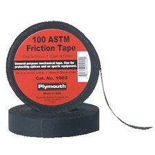 "Friction Tapes - 3/4""x60' 100 asm black frictio tape old #8"