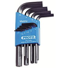 Metric Hex Key Sets - set hex key 9pc metric