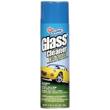 Glass Cleaner w/Ammonia - 19-oz. aerosol glass cleaner