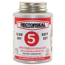 <strong>Rectorseal</strong> No. 5® Pipe Thread Sealants - no.5 1pt btc rectorsealpipe thread