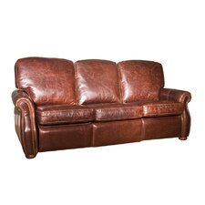 Newmarket Leather Reclining Sofa