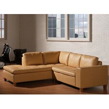 Allegro 2 Piece Open End Left Arm Facing Sectional