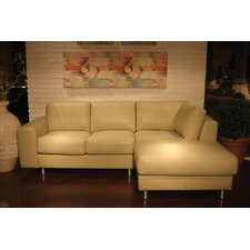 Sarina Leather Sectional