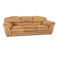 <strong>Coja</strong> Colony II Leather Full Sleeper Sofa