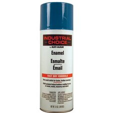 Rust-Oleum - Industrial Choice 1600 System Enamel Aerosols 830 True Blue Ind. Choice Paint 12Oz. Fill Wt.: 647-1626830 - 830 true blue ind. choice paint 12oz. fill wt.