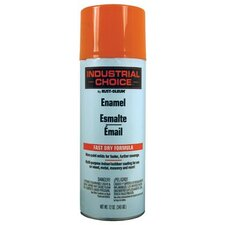 Rust-Oleum - Industrial Choice 1600 System Enamel Aerosols 830 Safety Orange Ind. Choice Paint 12Oz. Fil.Wt: 647-1653830 - 830 safety orange ind. choice paint 12oz. fil.wt