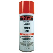 Rust-Oleum - Industrial Choice 1600 System Enamel Aerosols 830 Safety Red Ind. Choice Sry. Paint 12 Fl Oz: 647-1660830 - 830 safety red ind. choice sry. paint 12 fl oz