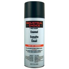 Rust-Oleum - Industrial Choice 1600 System Enamel Aerosols 830 Semi-Flat Black Ind.Choice Paint 12Oz. F.Wt.: 647-1678830 - 830 semi-flat black ind.choice paint 12oz. f.wt.