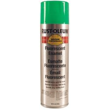 Rust-Oleum - High Performance V2100 System Enamel Aerosols 838 14-Oz Fluorescent Green Spray Paint: 647-2233838 - 838 14-oz fluorescent green spray paint