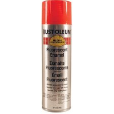<strong>Rust-Oleum</strong> Rust-Oleum - High Performance V2100 System Enamel Aerosols 838 14-Oz Fluorescent Red Spray Paint: 647-2264838 - 838 14-oz fluorescent red spray paint