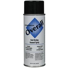 Rust-Oleum - Overall Economical Fast Drying Enamal Aerosols 830 10-Oz Gloss Black Overall Industrial: 647-V2402830 - 830 10-oz gloss black overall industrial