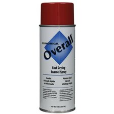 Rust-Oleum - Overall Economical Fast Drying Enamal Aerosols 830 10-Oz Gloss Red Overall Industrial: 647-V2407830 - 830 10-oz gloss red overall industrial