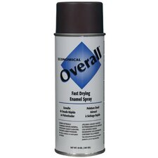 Rust-Oleum - Overall Economical Fast Drying Enamal Aerosols 830 10-Oz Gloss Brown Overall Imdustrial: 647-V2411830 - 830 10-oz gloss brown overall imdustrial
