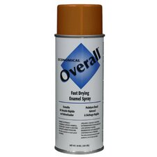 Rust-Oleum - Overall Economical Fast Drying Enamal Aerosols 830 10-Oz Gloss Orange Overall Industrial: 647-V2414830 - 830 10-oz gloss orange overall industrial