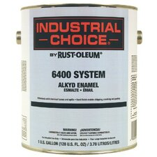Industrial Choice 6400 System Alkyd Enamels - ind choice banner red alkyd enamel gallon