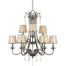 <strong>Quoizel</strong> Kendra 9 Up Light Chandelier