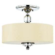 <strong>Quoizel</strong> Downtown Semi Flush Mount