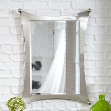 Jasper Wall Mirror in Brushed Nickel