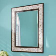 Monterey Mosaic Rectangular Mirror in Malaga