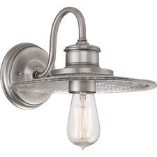 <strong>Quoizel</strong> Admiral 1 Light Wall Sconce