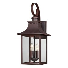 Chancellor 3 Light Outdoor Wall Lantern