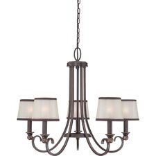 <strong>Quoizel</strong> Palmer 5 Light Chandelier