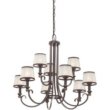 <strong>Quoizel</strong> Palmer 9 Light Chandelier