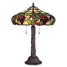 "Tiffany 23"" H Table Lamp"