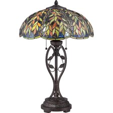 "Belle 25.5"" H Table Lamp with Bowl Shade"