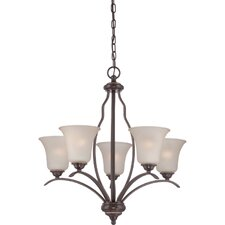 <strong>Quoizel</strong> Ventura 5 Light Chandelier