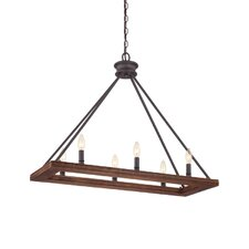 Plantation 6 Light Island Pendant