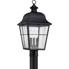 Millhouse 3 Light Outdoor Post Lantern