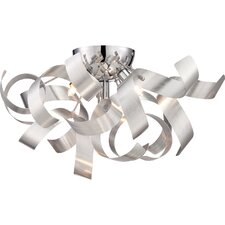 Ribbons Flush Mount